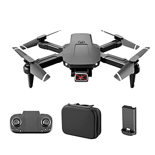 LYHY Droni, droni per Adulti con Fotocamera, Mini Aereo telecomandato Pieghevole, Doppia Fotocamera 4K per Fotografia Aerea ad Alta Definizione, Drone di Controllo a Un Pulsante con Rotazione a 360°