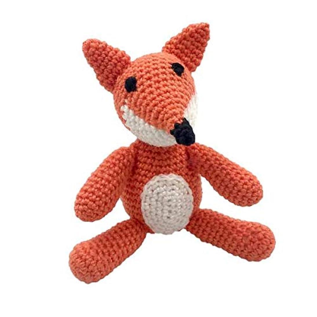 Darn Good Yarn Craft Amigurumi Crochet Starter Kit with Yarn - DIY Knitting Kit for Beginners - Fox Knit and Crochet Pattern