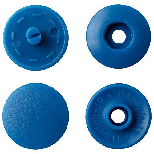 NBK イージースナップボタン12組入り φ13mm 青 F12-310