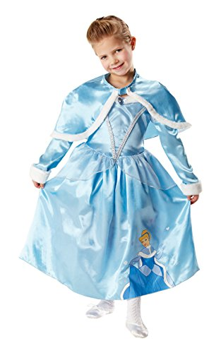 Rubie's-déguisement officiel - Disney- Déguisement Costume Luxe Cendrillon Winter In Wonderland - Taille S- I-881850S