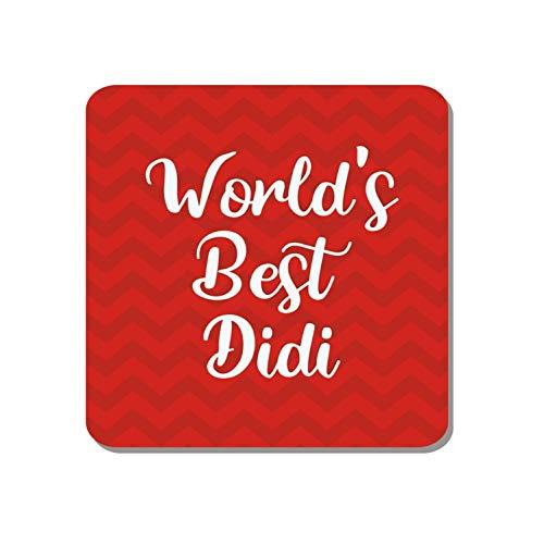 Family Shoping Diwali Bhaidooj Gifts for Sister Worlds Best Didi - Imán para nevera, decoración del hogar, cocina, oficina