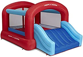 Radio Flyer Backyard Bouncer, Bounce House, Inflatable Jumper with Air Blower