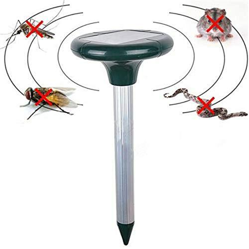 Répulsif ultrasonique de Souris de l'énergie Solaire Repellent Taupe Solar Repellent Ultrasonic Repellent Snake Waterproof Anti Mole Repel Mole Rats Mouse Snake