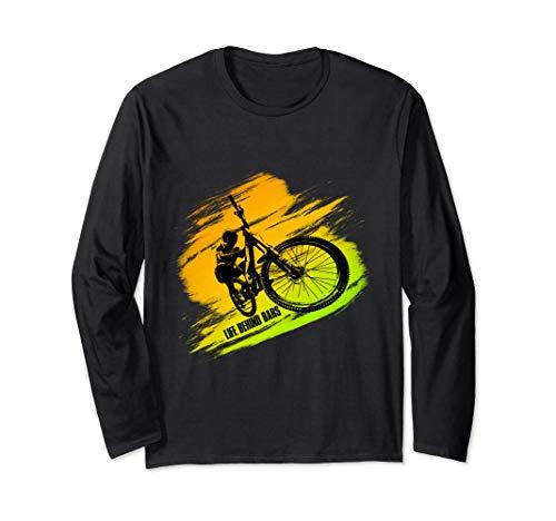 Bmx & Extremsportler Fahrer Geschenkidee für Bike Freunde Langarmshirt