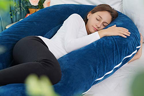 Meiz Pregnancy Pillow, Pregnancy Body Pillow, Pregnancy Pillows for Sleeping, 65