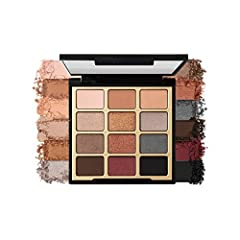 HIGH-PIGMENT EYESHADOW PALETTE: Go bold or go subtle with the Bold Obsessions Eyeshadow Palette. This palette features 12 universal neutrals and rich jewel-tones designed with a velvet-like feel for flawless blending, and endless makeup looks. 12 MAT...