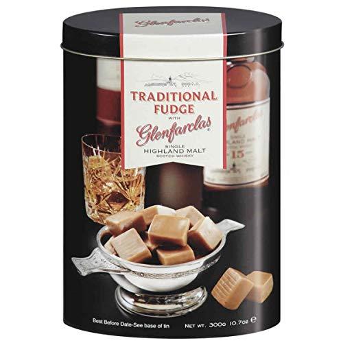 Gardiner´s of Scotland Whisky Fudge Glenfarclas – 250 g – Handgemachte, weiche Whisky-Karamell-Bonbons