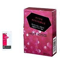 相模ゴム HOT KISS 5個入 + リンクルゼロゼロ1000 1個入りセット
