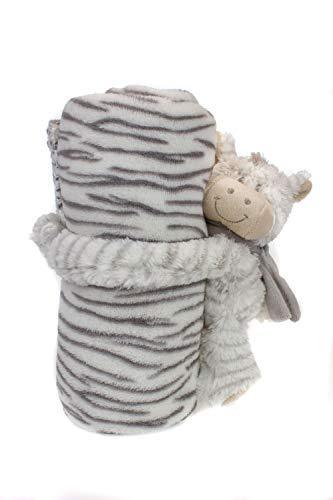 Manta para bebé con diseño de oso de peluche