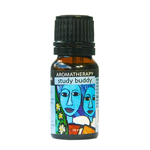 Earth Solutions Affirmation Oil | Study Buddy, 10ml | Aromatherapy Diffuser Oils | A Calm Essential Oil Blend for Kids with Positive Affirmation | Pure Therapeutic Grade Essential Oil