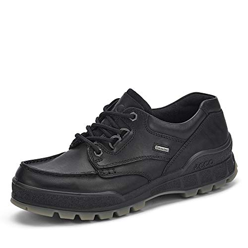 ECCO Men's Track 25 Low GORE-TEX waterproof outdoor hiking shoe, Black/Black, 44 M EU (10-10.5 US)