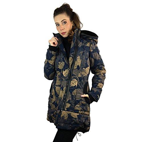 khujo Cayus Jacket 1076CO173-HI6 Damenjacke Blue/Beige Gr. XS