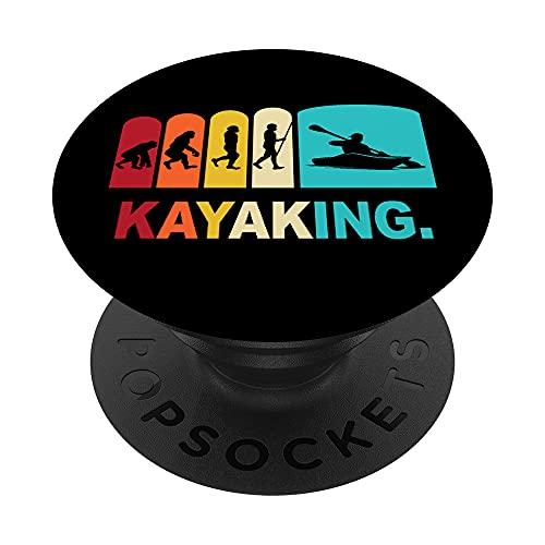 Kayak Refranes Piraguismo Remar Deportes Acuaticos PopSockets PopGrip: Agarre intercambiable para Teléfonos y Tabletas