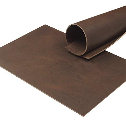 Klassen Leder AIX Vegetabiles Rindsleder 3,5 mm Dick Cacao Pull-Up 88 (297 x 420 mm, 1 x A3)