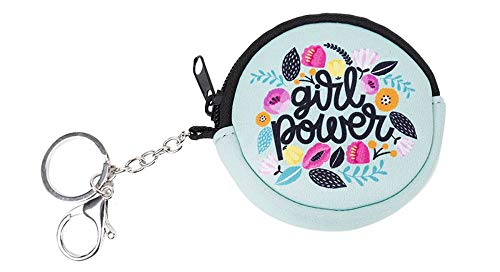 Münzbörse Kinder - Geldbörse für Mädchen - Geldbeutel, Mini Portemonnaie, Kleingeld Münzbeutel (Girl Power)
