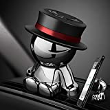 Aokway 車載ホルダー スマホホルダー 携帯ホルダー 360度回転 可愛い 創意 クリスマス プレゼント (ブラック)