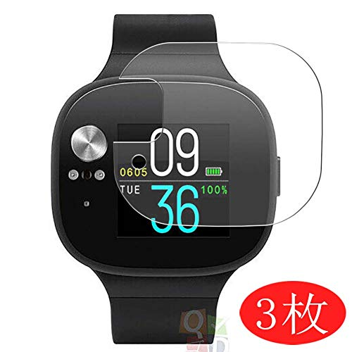 【3 Pack】 Synvy Screen Protector for ASUS VivoWatch BP HC-A04 TPU Flexible HD Film Protective Protectors [Not Tempered Glass]