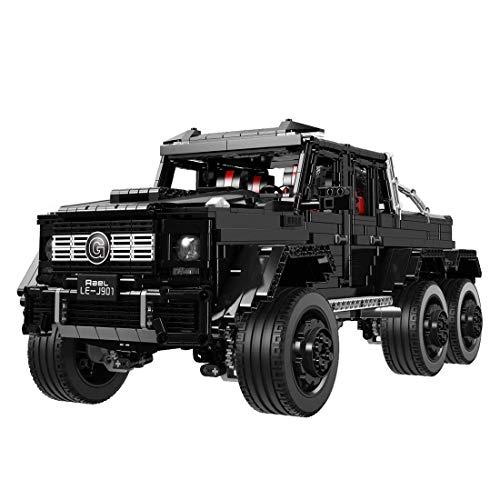 OATop Technik Bausteine für G63 Modell, 3300 Teile Technic Custom Bauspiel Geländewagen Bauset Bausteine Konstruktionsspielzeug Kompatibel mit Lego Technik