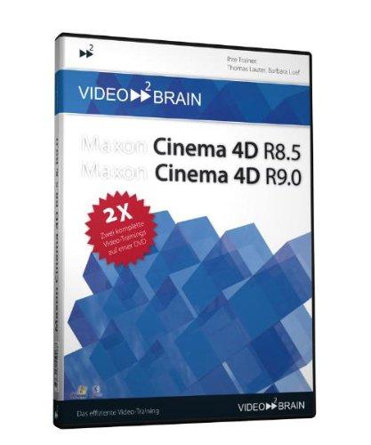 Maxon Cinema 4D R8.5 & R9.0 - 2 Video-Trainings [import allemand]