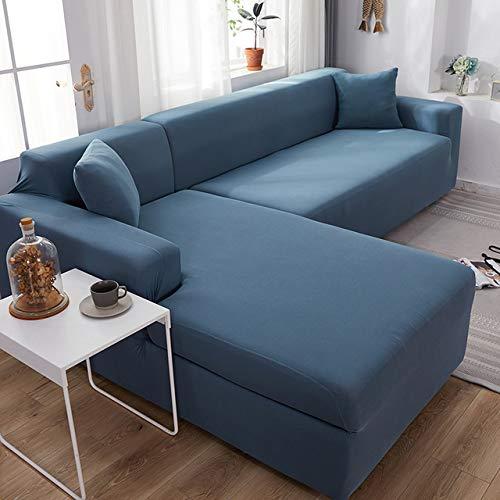 CanKun Vollflächige Stretch-Couchbezüge 1-Teiliges Jacquard-Sofabezug Aus Elastischem Stoff Aus Rutschfestem Polyester-Spandex-Stoff Sofa Protector Machine Washable,Deep Purple,3 Seater