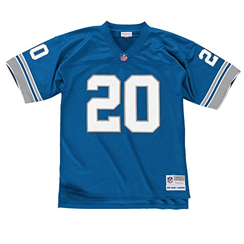 Mitchell & Ness Barry Sanders Detroit Lions Light Blue Throwback Jersey X-Large