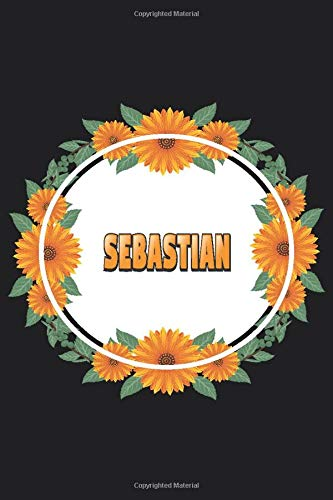 Sebastian: Personalized Notebook | Sebastian's Personal Writing Journal | Blank lined notebook | Note Taking for Sebastian