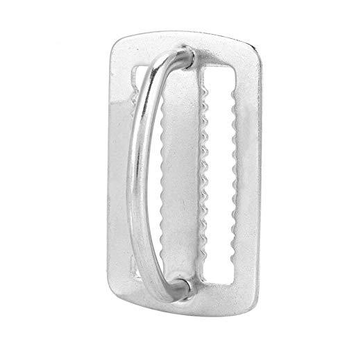 Relajante Diapositivas de 50 mm nadar el salto D-anillo del acero inoxidable del tubo respirador del equipo de submarinismo de la nadada de la hebilla de correa del cinturón Guardián de accesorios de