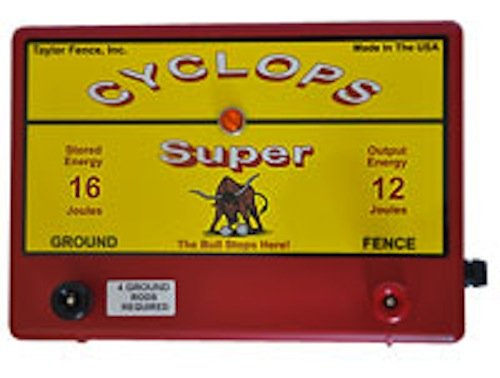 Price comparison product image Cyclops Super Battery - 12 Joule Fence Charger - Battery (12V) Powered