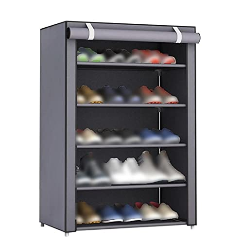FeelMeet La Tela no Tejida Zapatos Rack Zapatos Organizador habitación Dormitorio Decoración Bastidores del Zapato