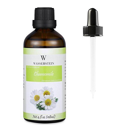 Wasserstein 4oz Chamomile Therapeutic Grade Essential Oil, 100% Pure & Natural