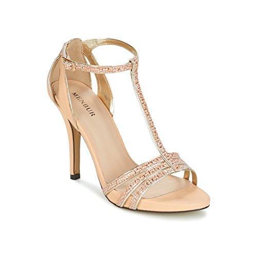 Menbur Lanteira Sandalen/Sandaletten Damen Beige - 40 - Sandalen/Sandaletten Shoes