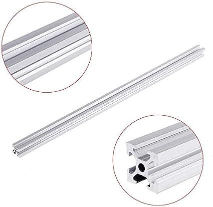 PovKeever 100 2020 V-Slot Aluminum Extrusions 20x20mm Aluminum Frame Profile for CNC Laser Engraving Machine
