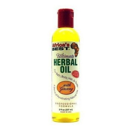 Afriques Meilleur ultime Herbal Oil 235 ml (pack de 2)