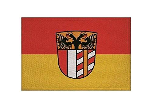 U24 Aufnäher Schwaben Distrikt Fahne Flagge Aufbügler Patch 9 x 6 cm
