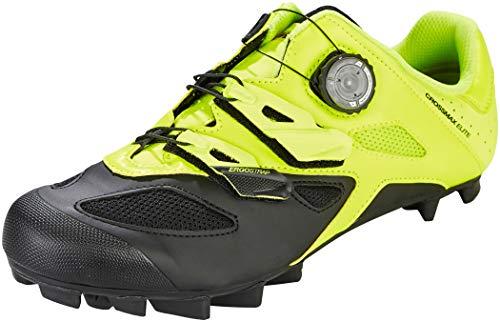Mavic, Crossmax Elite, scarpe da mountain bike, colore: giallo e nero, 2019, Unisex adulto, Mavic, Safety Yellow/Black/Black, 44