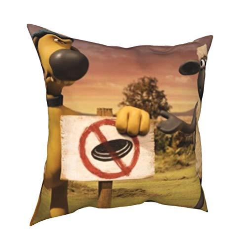 Se-an the Sh-eep - Cojín para silla de 50,8 x 50,8 cm, se puede utilizar en cualquier habitación y dormitorio.