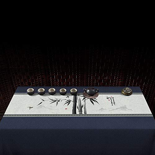 PhantasyIsland.com Mantel a Cuadros navideños, Fiesta de Año Nuevo Fiesta Inicio Decoración Diaria Diseño Cena Mesa Cubierta 140 * 230cm