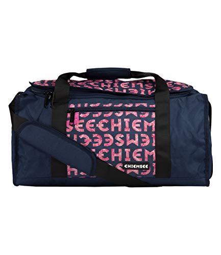 Chiemsee Duffle M Koffer, 50 cm, 32 Liter, Dark Blue/Pink