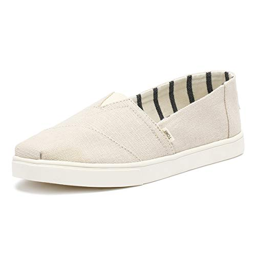TOMS Heritage Canvas Women's Cupsole Alpargatas Venice Collection (9 M US, Natural)