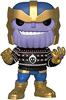 Funko Pop! Marvel: Holiday - Thanos in Ugly Sweater