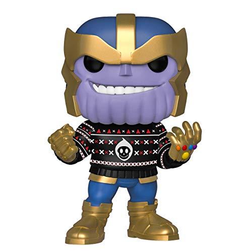 Funko Pop! Marvel: Thanos (Holiday) #533 Lançamento Colecione Express
