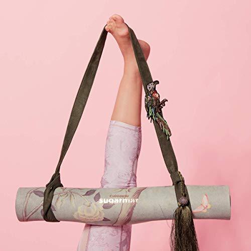 Sugarmat Luxurious Strap Jade Chinoise Yoga Mat Carrier