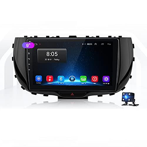 STTTBD 9'Android 10.0 2 DIN Radio De Navegación para Kia Soul SK3 2019 2020 Soporte Bluetooth USB WiFi Pantalla Táctil Reproductor De Video Multimedia Navegación GPS Autoradio(Color:4G+WiFi 2G+23G)