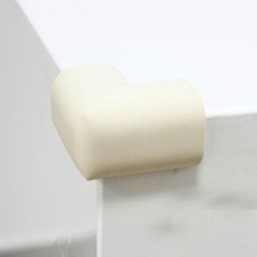 Enfants Sécurité Anti-collision Angle Épaississement Bébé Verre Table Angle Angle Protecteur Baby Table Table à café Wrap Angle Protection (1 Set 10 Pcs) (couleur : Beige)