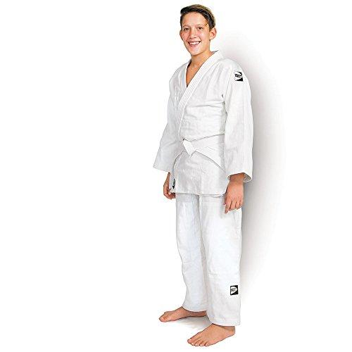 Traje de judo Green Hill Club, kimono, Gi, 450g/m², talla a elegir, color Blanco, tamaño 160