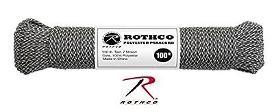 Rothco 550lb Type III Polyester Paracord (ACU Digital Camo, 100')