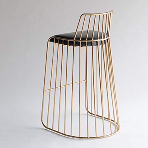 Gouden barkruk, eenvoudig, voor dining, chair, restaurant, stoelen, barkruk, voor café, bar, terras, creatief, stoel stool C