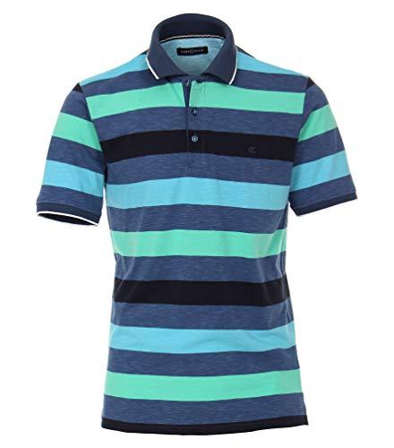 Casa Moda - Herren Poloshirt (993199300), Größe:XL, Farbe:Blau (125)
