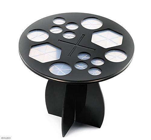 Ashy-wlj 14 Hole Maquillage Brosse de séchage à Sec Brosses Rack étagère Multifonctions Support for écran cosmétique CleanTool Wash Maquillage Brush Holder