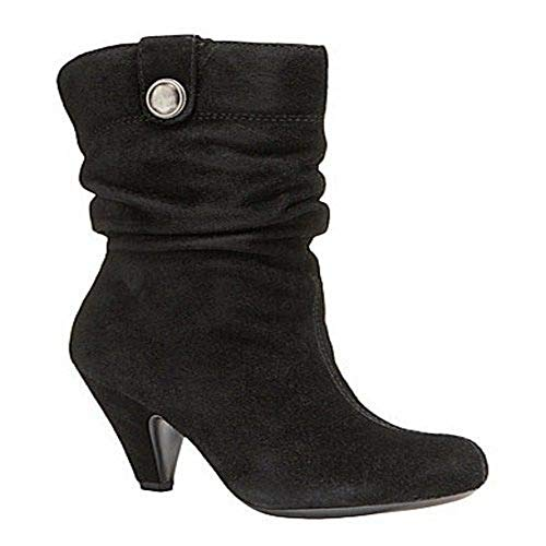 Arturo Chiang Women's Ottile Black Suede Ankle Boot - M - 10